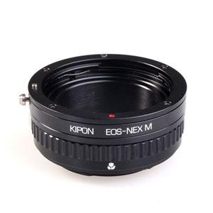 EOS-S/E M KIPON KIPON マウントアダプター EOS-S/E M (ボディ側:ソニーE/レンズ側:キヤノンEF)