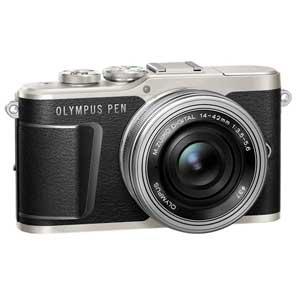 E-PL9 レンズキツト(ブラツク) オリンパス デジタル一眼カメラ「OLYMPUS PEN E-PL9」14-42mm EZレンズキット(ブラック)