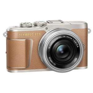 E-PL9 レンズキツト(ブラウン) オリンパス デジタル一眼カメラ「OLYMPUS PEN E-PL9」14-42mm EZレンズキット(ブラウン)