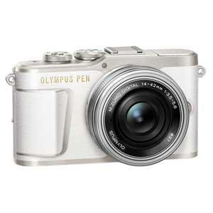 E-PL9 レンズキツト(ホワイト) オリンパス デジタル一眼カメラ「OLYMPUS PEN E-PL9」14-42mm EZレンズキット(ホワイト)