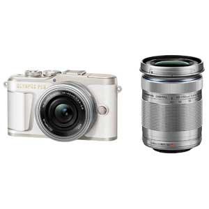 E-PL9 WZKIT(ホワイト) オリンパス デジタル一眼カメラ「OLYMPUS PEN E-PL9」EZダブルズームキット(ホワイト)