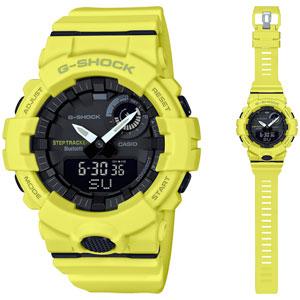 GBA-800-9AJF カシオ 【国内正規品】G-SHOCK(ジーショック) G-SQUAD Bluetooth Gショック デジアナ時計 メンズタイプ [GBA8009AJF]【返品種別A】