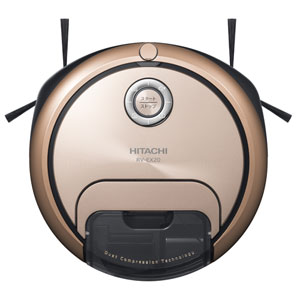 RV-EX20-N 日立 ロボット掃除機 (ディープシャンパン) 【掃除機】HITACHI minimaru(ミニマル) [RVEX20N]