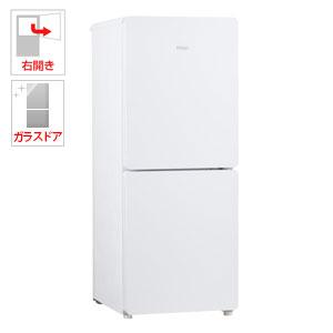 (標準設置料込)JR-GNF148E-W ハイアール 148L 2ドア冷蔵庫(ホワイト)【右開き】 Haier