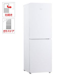 (標準設置料込)JR-GNF190E-W ハイアール 190L 2ドア冷蔵庫(ホワイト)【右開き】 Haier