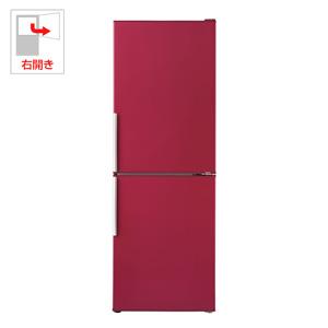 (標準設置料込)AQR-SD28G-R アクア 275L 2ドア冷蔵庫(ルージュ)【右開き】 AQUA