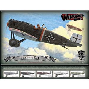 1/32 ユンカース D.1【WNG32065】 ウィングナット・ウィングス