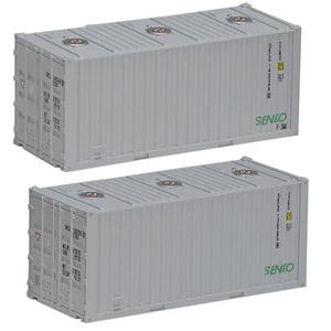鉄道模型 トミックス Nゲージ 誕生日 お祝い NEW ARRIVAL 3164 私有 2個入 センコー ISO20ftコンテナ