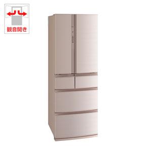 (標準設置料込)MR-RX46C-F 三菱 461L 6ドア冷蔵庫(フローラル) MITSUBISHI 置けるスマート大容量 RXシリーズ