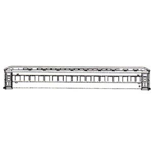 [鉄道模型]MAXモデル (HO) WRP-015 マロネフ37550(マロネフ29 11~)(プラ製ベース未塗装組立キット)