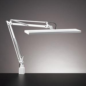 Z-80N-W 山田照明 LEDデスクスタンド(ホワイト) Z-LIGHT クランプタイプ