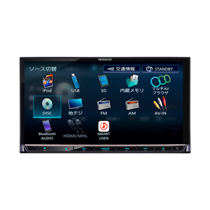 DPV-7000 ケンウッド Apple CarPlay/Android Auto 対応AVシステム2DIN 180mm KENWOOD