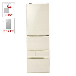 (標準設置料込)GR-M470GW-ZC 東芝 465L 5ドア冷蔵庫(ラピスアイボリー)【右開き】 TOSHIBA