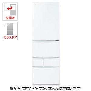 (標準設置料込)GR-M470GWL-ZW 東芝 465L 5ドア冷蔵庫(クリアシェルホワイト)【左開き】 TOSHIBA