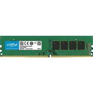 CT16G4DFD824A Crucial PC4-19200 (DDR4-2400)288pin DDR4 UDIMM 16GB