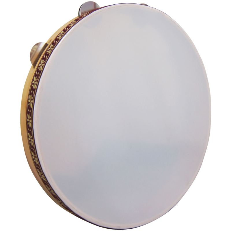 TUNABLE W/JINGLE マスターワーク フレームドラム(ジングル付) Masterwork -TUNABLE FRAME DRUM 40cm/BEECH/JINGLE-