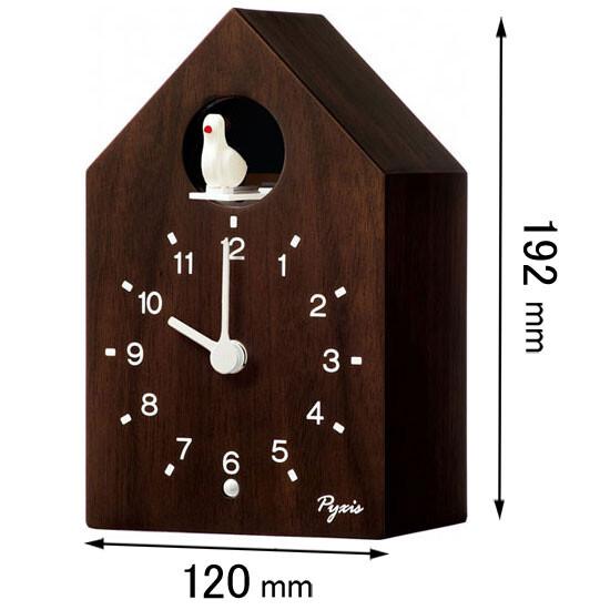 NA609B セイコークロック 置き掛け兼用時計 かっこう時計 [NA609B]【返品種別A】