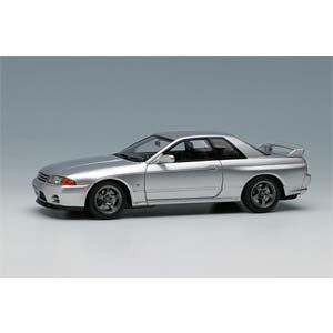 1/43 NISSAN SKYLINE GT-R (BNR32) 1991 スパークシルバーメタリック【EM364I】 メイクアップ