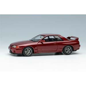 1/43 NISSAN SKYLINE GT-R (BNR32) 1991 レッドパールメタリック【EM364J】 メイクアップ