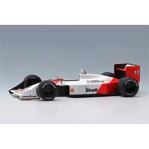 【再生産】1/43 McLaren Honda MP4/4 日本GP 1988 ウィナー No.12 アイルトン・セナ -ワールドチャンピオン-【FE013A】 メイクアップ