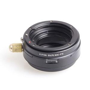 SHIFT NIK-FX KIPON KIPON マウントアダプター SHIFT NIK-FX (ボディ側:富士フイルムX/レンズ側:ニコンF)