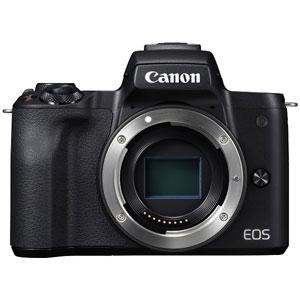 EOSKISSMBK-BODY キヤノン ミラーレス一眼カメラ「EOS Kiss M」ボディ(ブラック) Canon