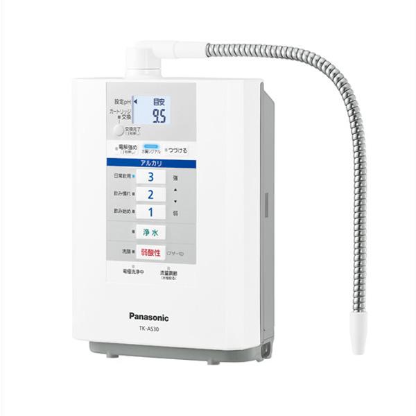 TK-AS30-W パナソニック 据置型整水器(パールホワイト) Panasonic アルカリイオン