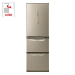 NR-C37HC-N パナソニック 365L 3ドア冷蔵庫(シルキーゴールド)【右開き】 Panasonic