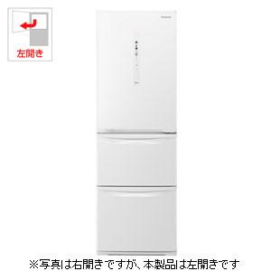 NR-C37HCL-W パナソニック 365L 3ドア冷蔵庫(ピュアホワイト)【左開き】 Panasonic