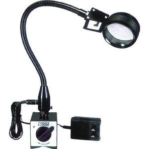 LED5000M ノガ・ジャパン LED付拡大鏡(マグネットタイプ) スタンドルーペ(マグネット付)