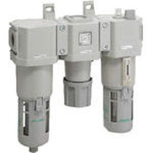 C4000-10-W-F CKD FRLユニット(オートドレン付)