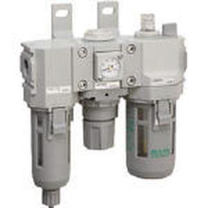C2000-8-W-F1 CKD FRLユニット(オートドレン付) モジュラータイプセレックスFRL 2000シリーズ