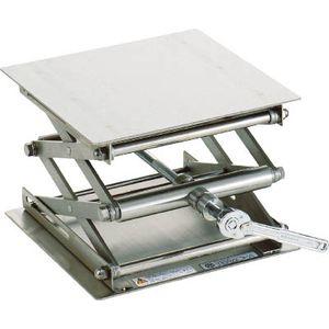 99-1620-44 テラオカ ラボジャッキ ラチェットハンドル式 ステンレスタイプ ラボジャッキ