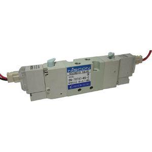 BN-7GT47-M5-C-E200 日本精器 4方向電磁弁M5ダブルAC200V7GT