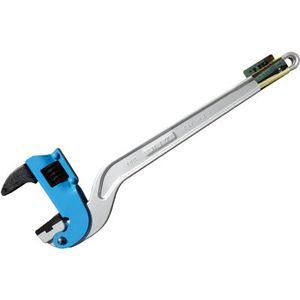 ACPW-600J ヒット商事 ブルー アルミコーナーパイプレンチ 白管、被覆管 兼用 600mm