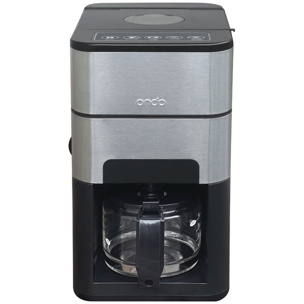 ON-01-BK 丸隆 全自動コーヒーメーカー(ブラック) MARUTAKA ondo 石臼式コーヒーメーカー