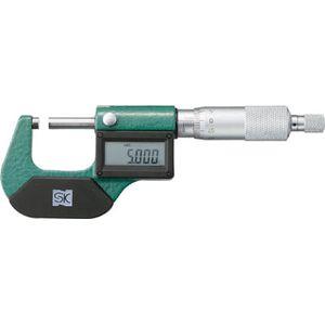 MCD130-75 新潟精機 デジタル外側マイクロメータ 測定範囲(mm):50~75