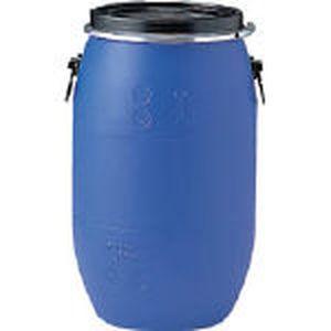 SKPDO-75L-1-BL 三甲 プラドラムオープンタイプ 75L(青) ドラム缶