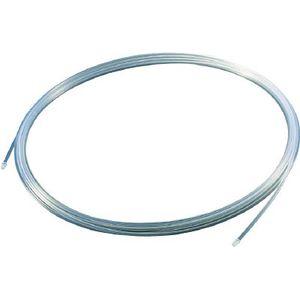 TPFA10-10 トラスコ中山 フッ素樹脂チューブ 内径8mm×外径10mm 長さ10m