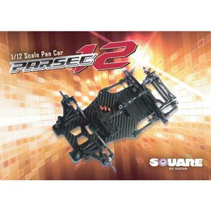 1/12 レーシングカー PARSEC-12【SEC-002】 スクエア