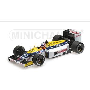 1/18 ウィリアムズ ホンダ FW11 ナイジェル・マンセル 1986【117860005】 ミニチャンプス
