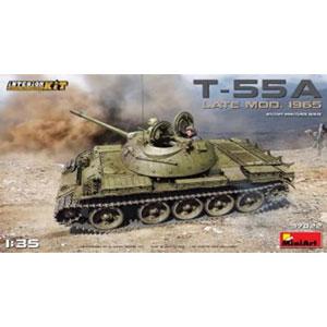 1/35 T-55A後期型Mod.1965(内部再現)インテリアキット【MA37022】 ミニアート