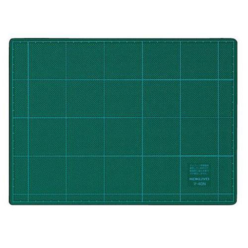 マ-40N 美品 コクヨ カッティングマット 両面仕様 220×300mm 3mm厚 メーカー公式 グリーン