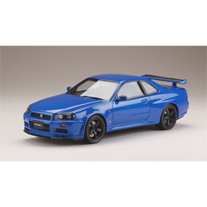 1/18 ニッサンスカイライン GT-R V・spec 1999 (BNR34) Nismo カスタムバージョン ベイサイドブルー(M)【HJ1809NBL】 ホビージャパン