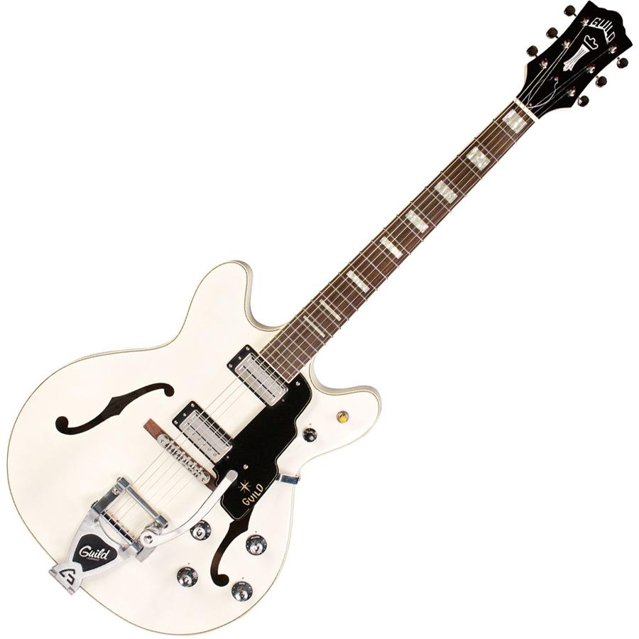 STARFIRE 5 WHT ギルド エレクトリックギター(ホワイト) GUILD Newark St. Collection