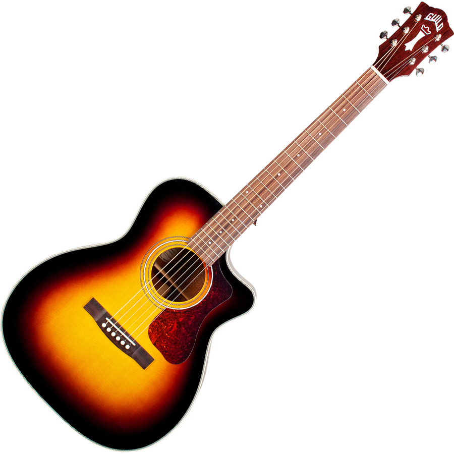 OM-140CE SB ギルド エレクトリックアコースティックギター(サンバースト) GUILD THE WESTERLY COLLECTION