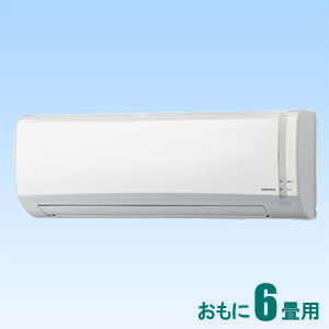 CSH-N2218R-W コロナ 【標準工事セットエアコン】(10000円分工事費込) おもに6畳用 (冷房:6~9畳/暖房:6~7畳) Nシリーズ (ホワイト)