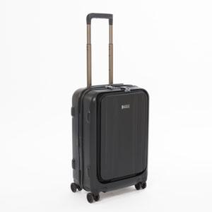 3-9910-55-001 ストラティック スーツケース ハードシェル(Sサイズ)ブラック Stratic STRAIGHT(ストレート)