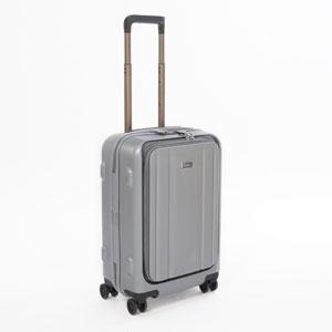 3-9910-55-003 ストラティック スーツケース ハードシェル(Sサイズ)シルバーグレー Stratic STRAIGHT(ストレート)