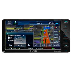 MDV-L505W ケンウッド 7V型ワイド 地上デジチューナー内蔵 ナビゲーションシステム200mmワイドモデル KENWOOD 彩速ナビ